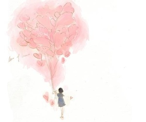 art, lovely, and pink image