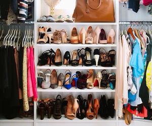 closet, furniture, and ideas image