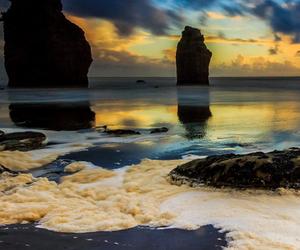 beach, nature, and seascape image