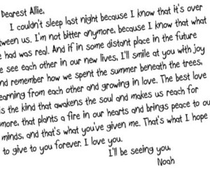 quote, the notebook, and allie image
