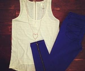 azul, blue, and fashion image