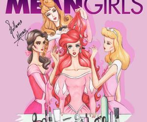 disney, mean girls, and princess image