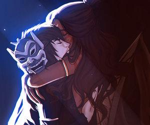 zutara, avatar, and zuko image