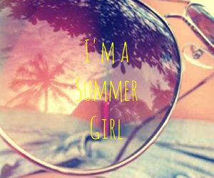 summer, sunglasses, and girly image