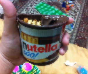 chocolate, gift, and nutella image