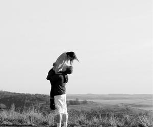 beach, boy, and kiss image