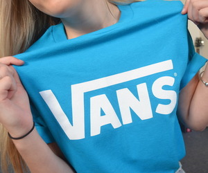 vans, tumblr, and blue image