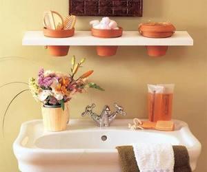 bathroom, decor, and diy image
