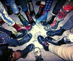 boots, grunge, and punk image
