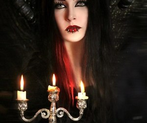 goth, witch, and gothic image