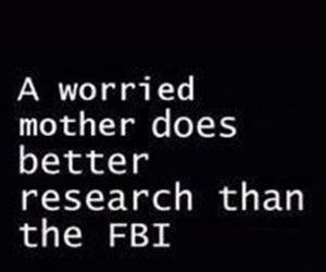 love, fbi, and mother image