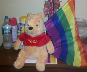 bear, pooh, and gay image