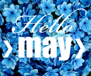 may, april, and flowers image