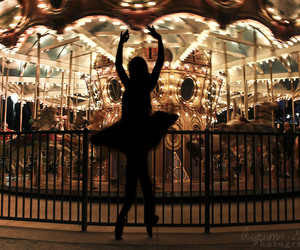 ballerina, ballet, and bed image