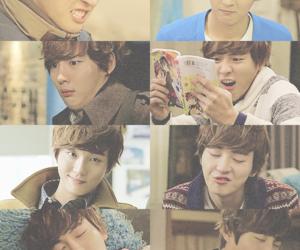 yoon shi yoon, cute, and flower boy next door image