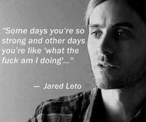 jared leto and quote image