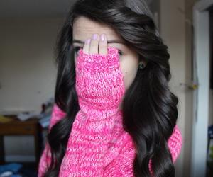 tumblr, pink, and girl image