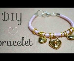 bracelet, fashion, and handmade image