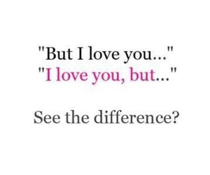 love, difference, and quote image