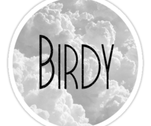birdy, cloud, and Logo image
