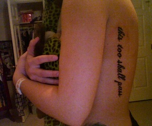 tattoo and this to shall pass image