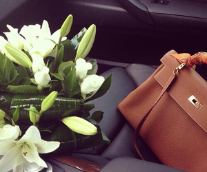 flowers and hermes image