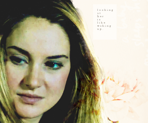 Shailene Woodley, four, and divergent image