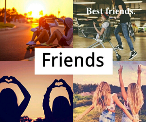 friends, best friends, and love image