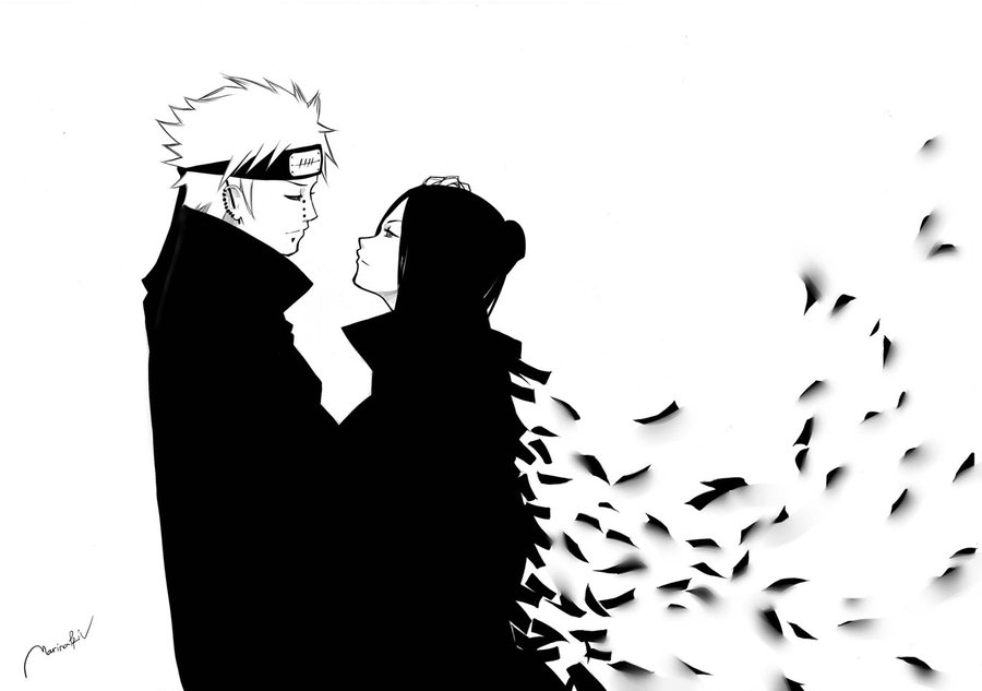 Konan and Pein shared by mia on We Heart It