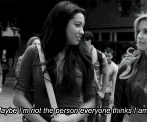 girl, quote, and pretty little liars image