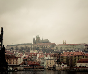 castle, czech republic, and prague image