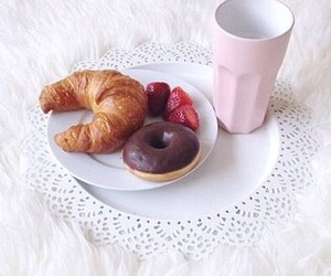 breakfast, donuts, and miam image