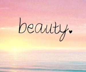 beauty and sea image