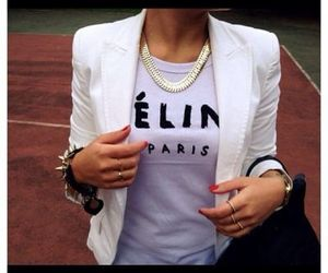 fashion, paris, and celine image