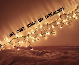 bed, Dream, and bedroom image