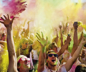 colorfull, party, and powder image