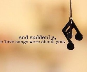 music, songs, and love image