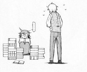 anime, studying, and pandora hearts image