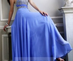 sequin long prom dresses image