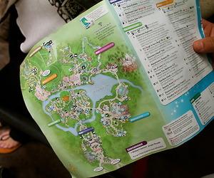 disney, DISNEYWORLD, and map image