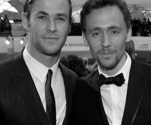 thor, bow-tie, and loki image