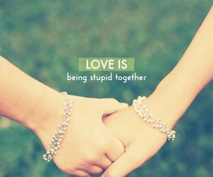 love, together, and quote image