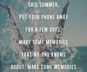 summer, memories, and quotes image