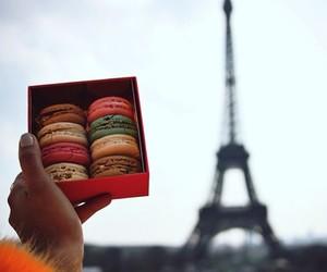 france, macarons, and paris image
