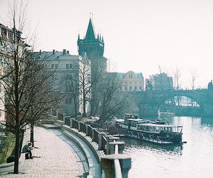 city, vintage, and prague image