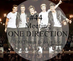 one direction, 100 things to do in life, and 44 image