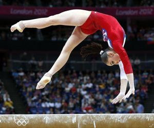 aliya mustafina and gymnastics image