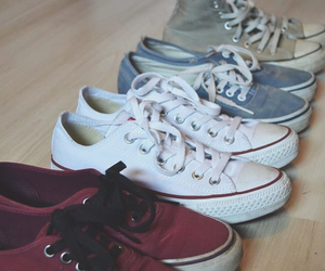 basic, vans, and converse image