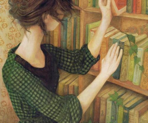 book, art, and read image
