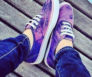 vans, fashion, and purple image